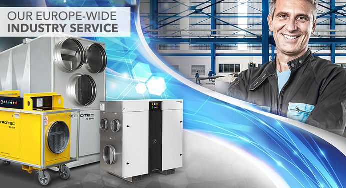 Service for Industrial Clients-Trotec